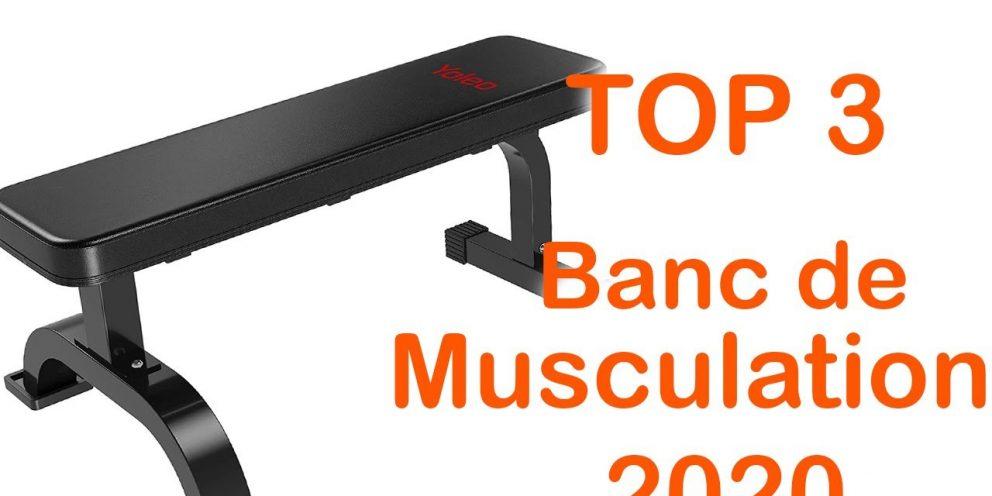 TOP 3 : Meilleur Banc de Musculation Personnel 2020